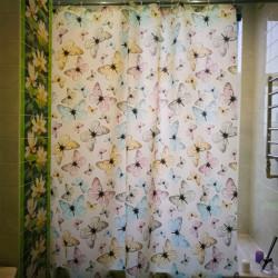 Штора для ванной Miranda Havana 10190 бежевый 180х200 см, Турция