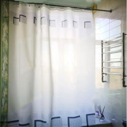 Штора для ванной Miranda Lykia 5087 серый 180х200 см, Турция