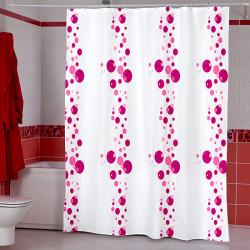 Штора для ванной Miranda Bubble 5160 розовый 180х200 см, Турция