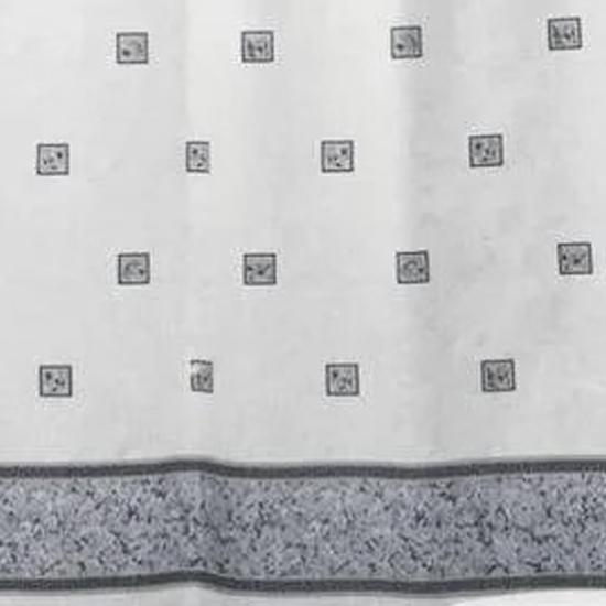 Штора для ванной Miranda Emerald 6025 серый 180х200 см, Турция