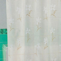 Штора для ванной Miranda Country Flower 6040 бежевый 180х200 см, Турция