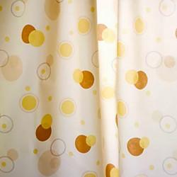 Штора для ванной Miranda Circle 7063 бежевый 180х200 см, Турция