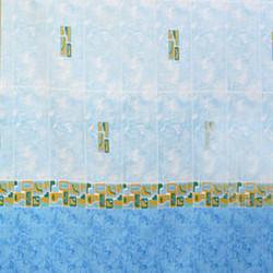 Штора для ванной Miranda Asturia 7079 голубой 180х200 см, Турция