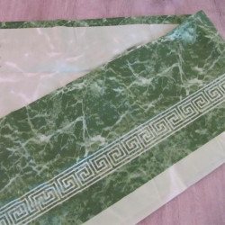Штора для ванной Miranda Mermer Su 7103 зеленый 180х200 см, Турция