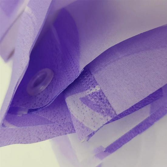 Штора для ванной Miranda Side G-7801 фиолетовый 180х200 см, Турция