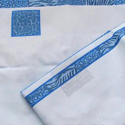 Штора для ванной Miranda Postaki 8094 голубой 180х200 см, Турция