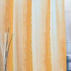 Штора для ванной Miranda Rain 9110 бежевый 180х200 см, Туреччина