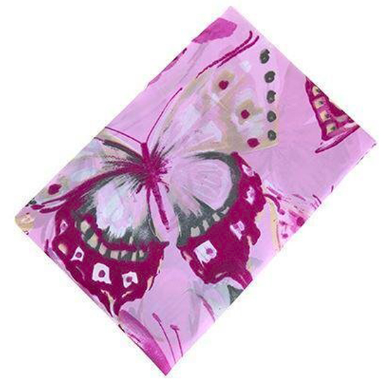 Штора для ванной Miranda Sare L-9229 розовый 180х200 см, Турция