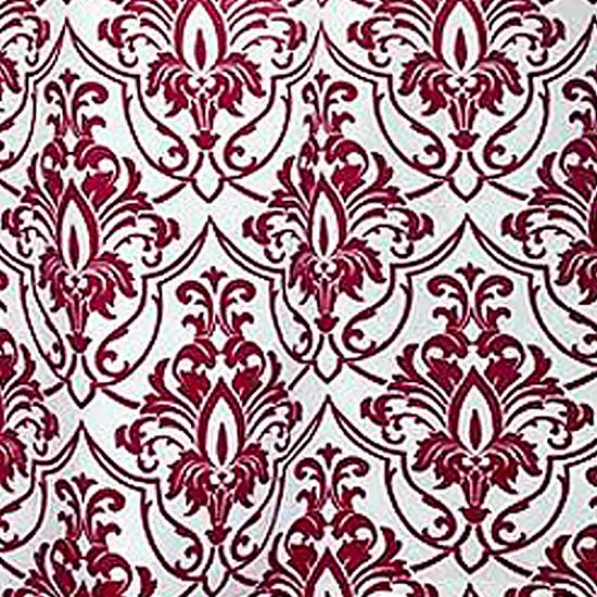 Штора для ванной Miranda Alina G-2798 красный 180х200 см, Турция