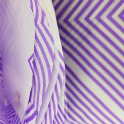 Штора для ванной Miranda Ibiza G-2868 фиолетовый 180х200 см, Турция