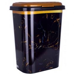 Бак для белья Violet 0190  55 л с рисунком