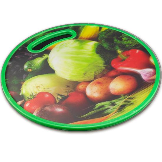 Доска кухонная А +6СВА круглая