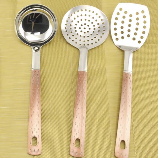 Кухонный набор А + 0230  7 предметов нержавеющая сталь