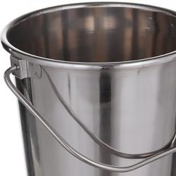 Ведро А+ 0384  5 шт нержавеющая сталь