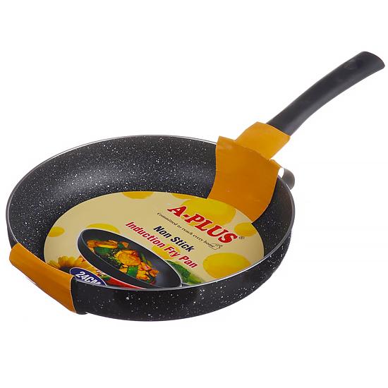 Сковорода мраморная A + 0446  24 см индукция