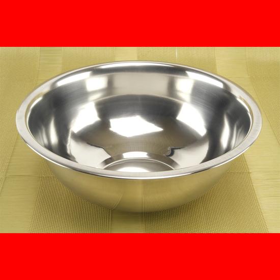 Миска А + 0885/0742  42 см нержавеющая сталь