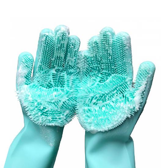 Перчатка силиконовая А + 101 SG для уборки