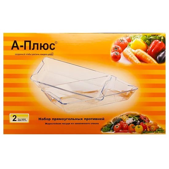 Жаростойкая посуда А+ 1090  2 шт 3.6 л+ 2.5 л