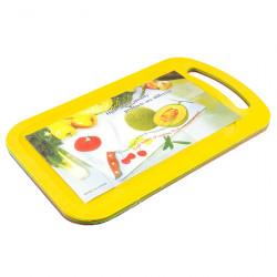 Доска кухонная А+ 2515 пластмассовая мини