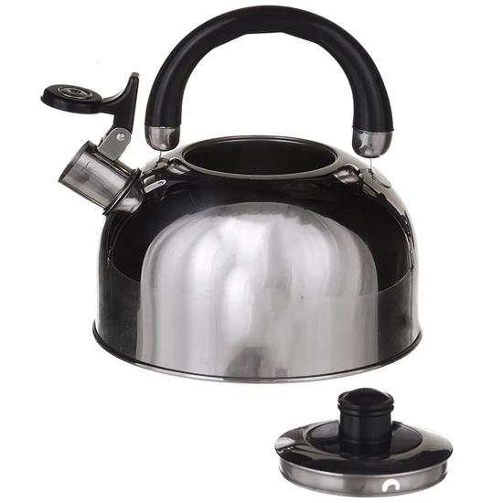 Чайник А + 1323  3,5 л нержавеющая сталь пластиковый носик