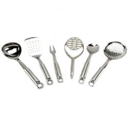 Кухонный набор А + 1448 7 предметов нержавеющая сталь