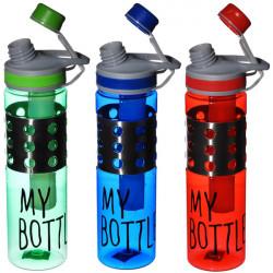 Бутылочка для води А + 1560 МВ 0.7 л с колбой для льда