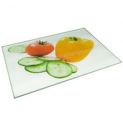 Доска кухонная стеклянная А+ 1803  35х25 см