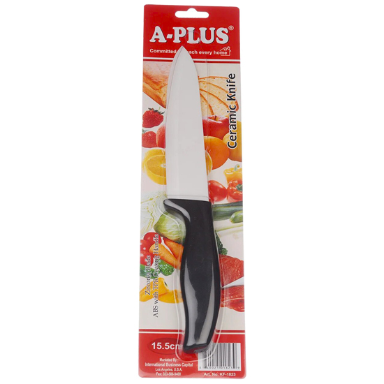 Нож А + 1016/ 1823  15.5 см керамика
