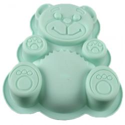 Форма силиконовая для печенья  A+ 1926 Медведь большой