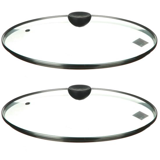 Крышка А + 28 GL 28 см стеклянная