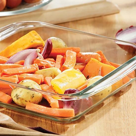 Жаростойкая посуда А+  4005  2.3 л (27.8х24х6.1 см) квадратная
