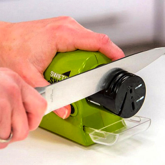 Точилка для ножей и ножниц А + 565 SS электрическая