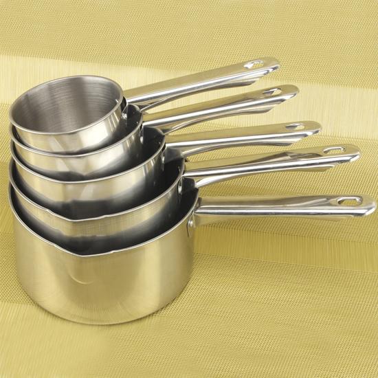 Ковшики А + 50 СР  5 шт. металлическая ручка мерка