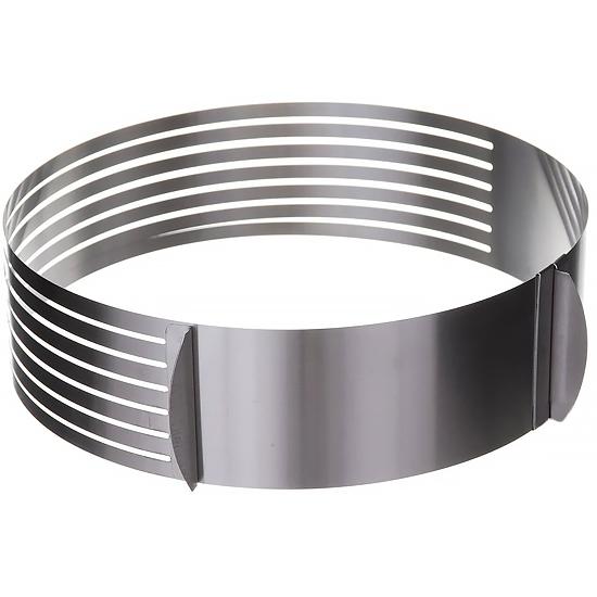 Форма для выпечки A+ 912 складная круглая с прорезями