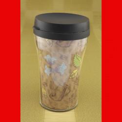Термокружка А + 996  0.3 л кофе лист