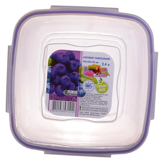 Контейнер FreshBox 2.4 квадратный