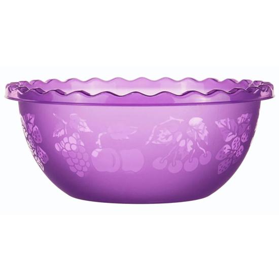 Таз для фруктов 6л фиолетовый