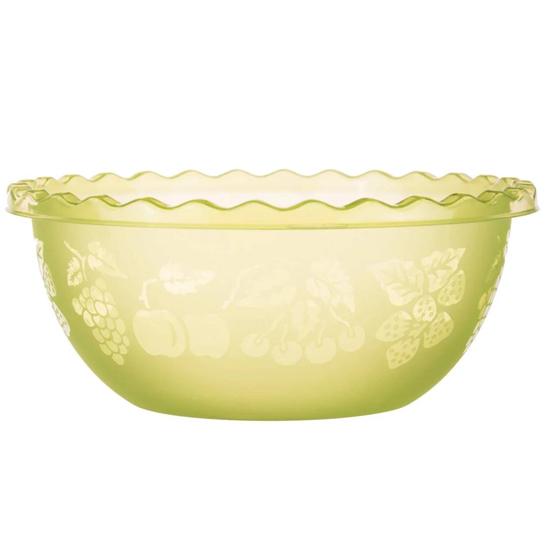 Таз для фруктов 3.5л салатовый