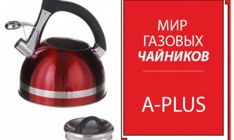 Газовые чайники A-PLUS-мечта каждой хозяйки!