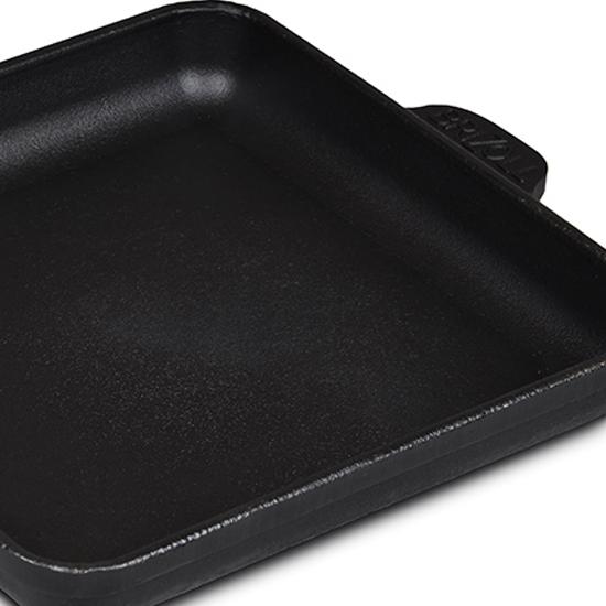 Сковородка Brizoll чугунная порционная Н 181825 квадратная
