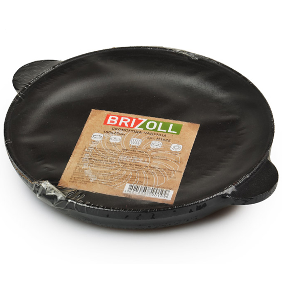 Сковородка Brizoll чугунная порционная Н 1825 18х25 см