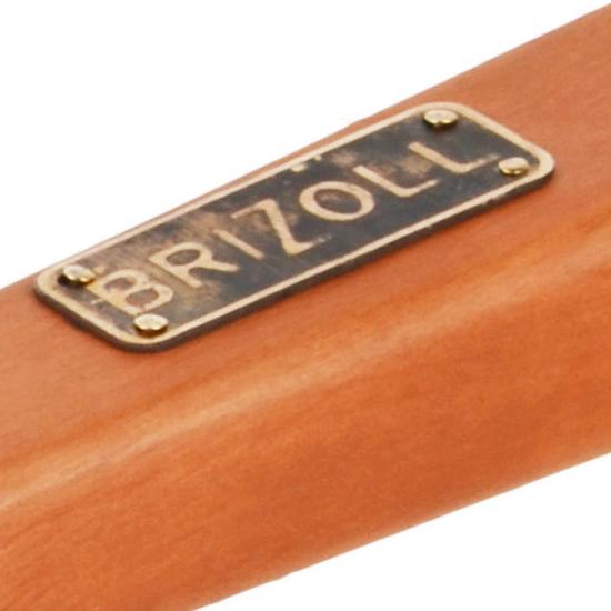 Сковородка Brizoll чугунная для блинов К 2415 - Р 24 см светлая ручка