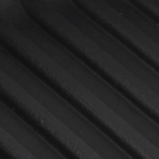Сковородка Brizoll чугунная для гриля К 2440 РГ 24 см черная ручка