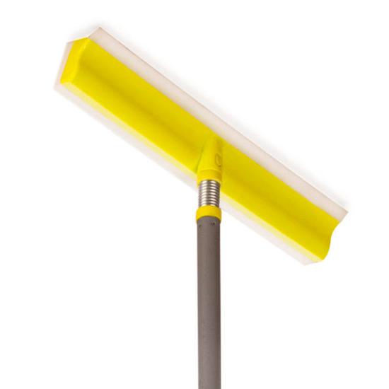 Окномойка на пружинке с металлической телескопической ручкой