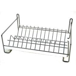 Сушилка для посуды Металл-Стиль СП-3412 1-ярус 30х40 см хром