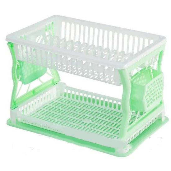 Сушка для посуды R-Plastic 2 яруса 43*29*27,5см