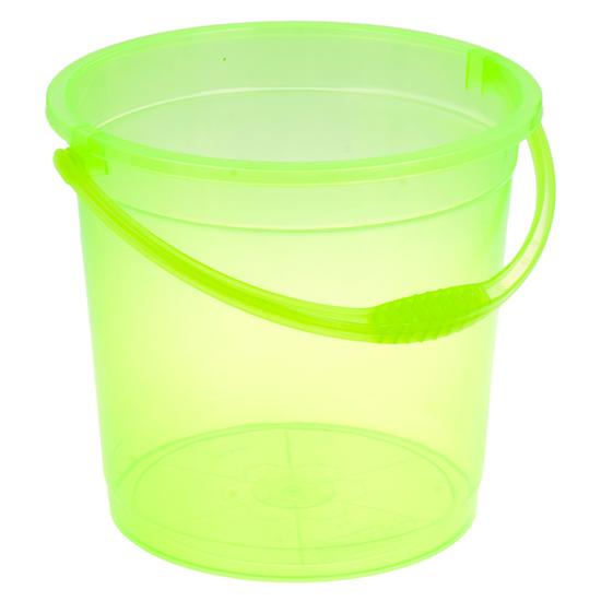 Ведро R-Plastic прозрачное без крышки 10л