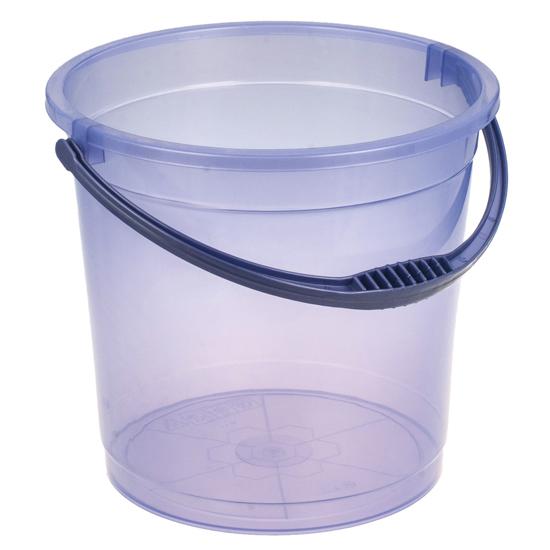 Ведро R-Plastic прозрачное без крышки 15л