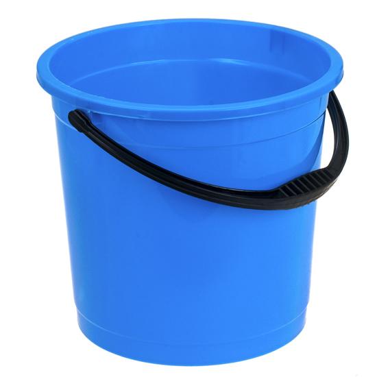 Ведро R-Plastic цветное без крышки 12л