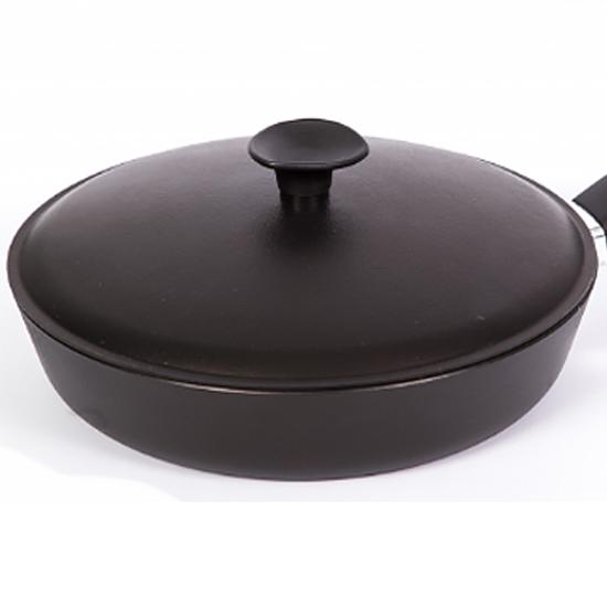 Сковородка Talko с антипригарным покрытием A 50241 24 см с алюминиевой крышкой